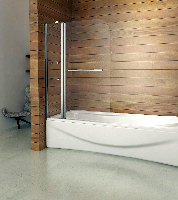 Girar 180 ° – Mampara para ducha 120 x 140 cm B2S de H12: Amazon.es: Bricolaje y herramientas