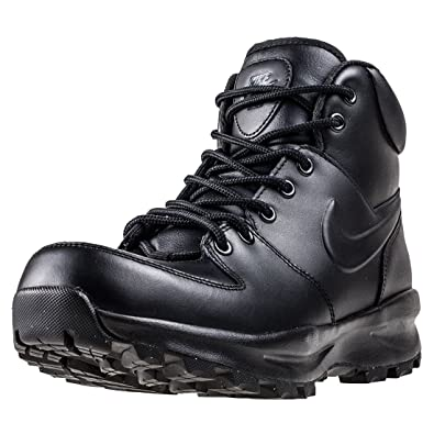 Nike Manoa Leather Boot Stiefelletten/Boots Herren Schwarz Boots