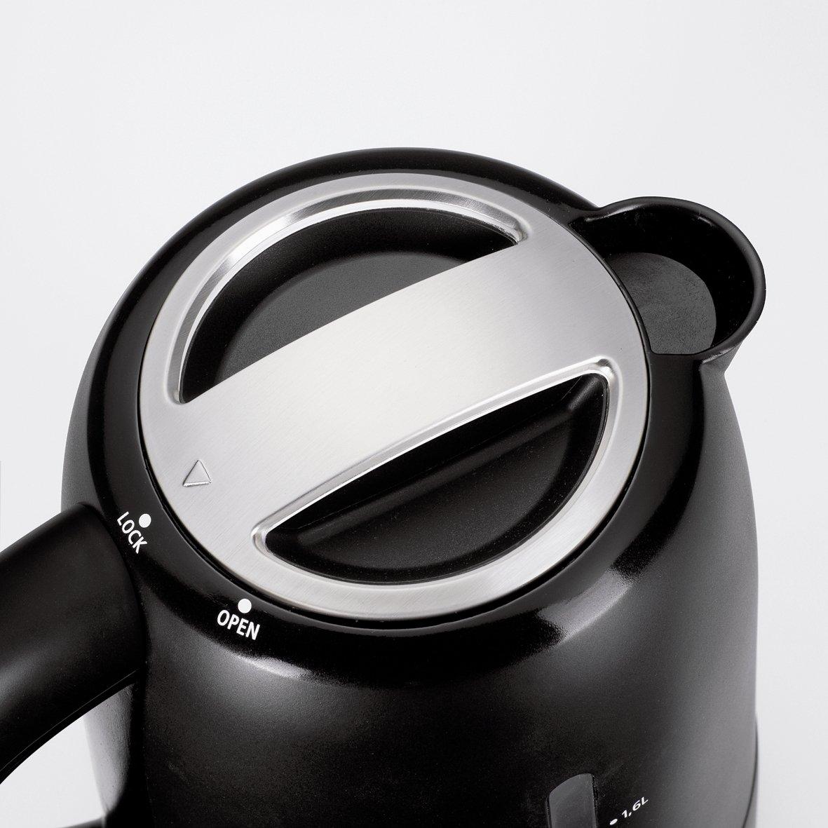 Krups FLF2, Negro, Acero inoxidable - Calentador de agua: Amazon.es: Hogar