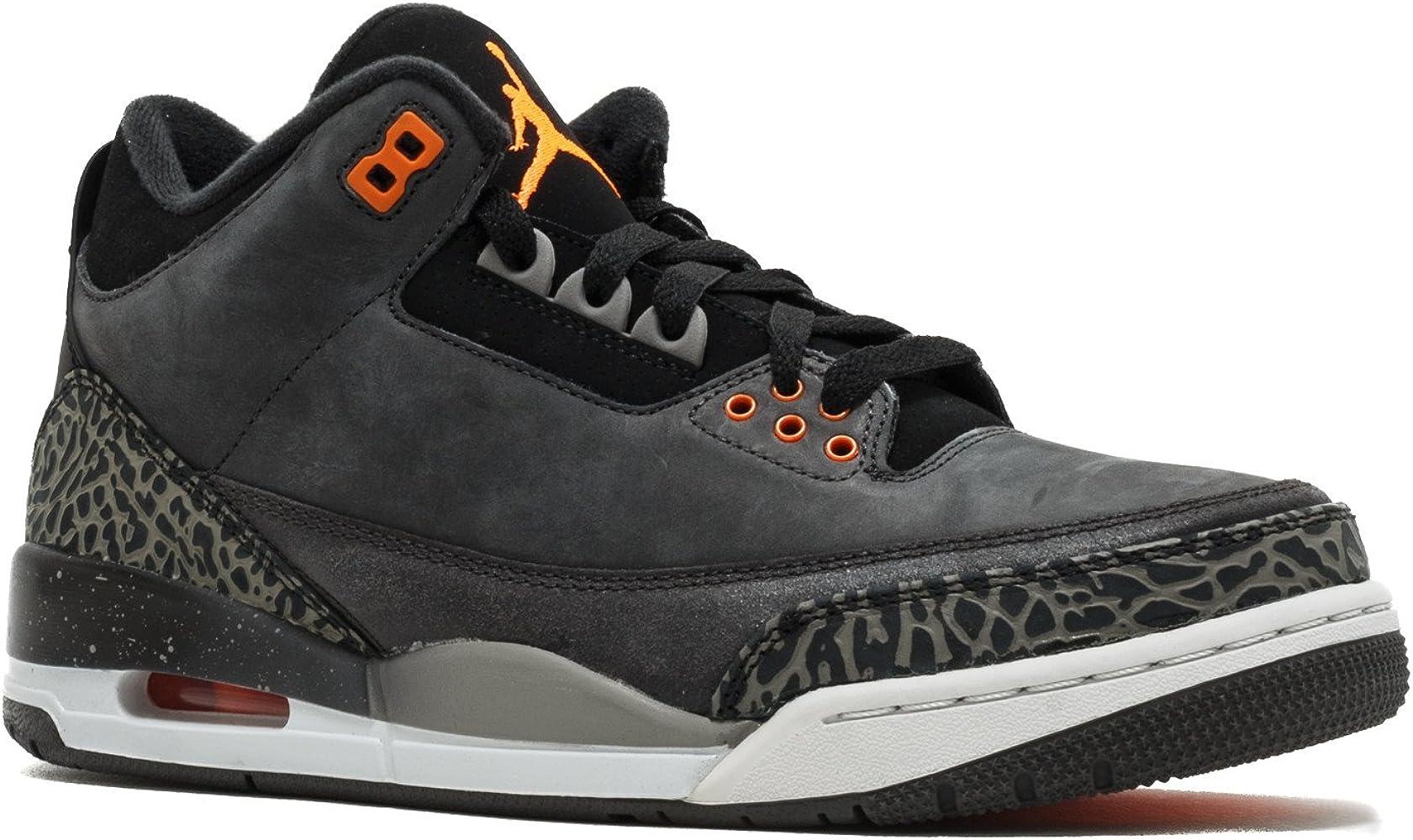 Nike Mens Air Jordan 3 Retro Fear Pack