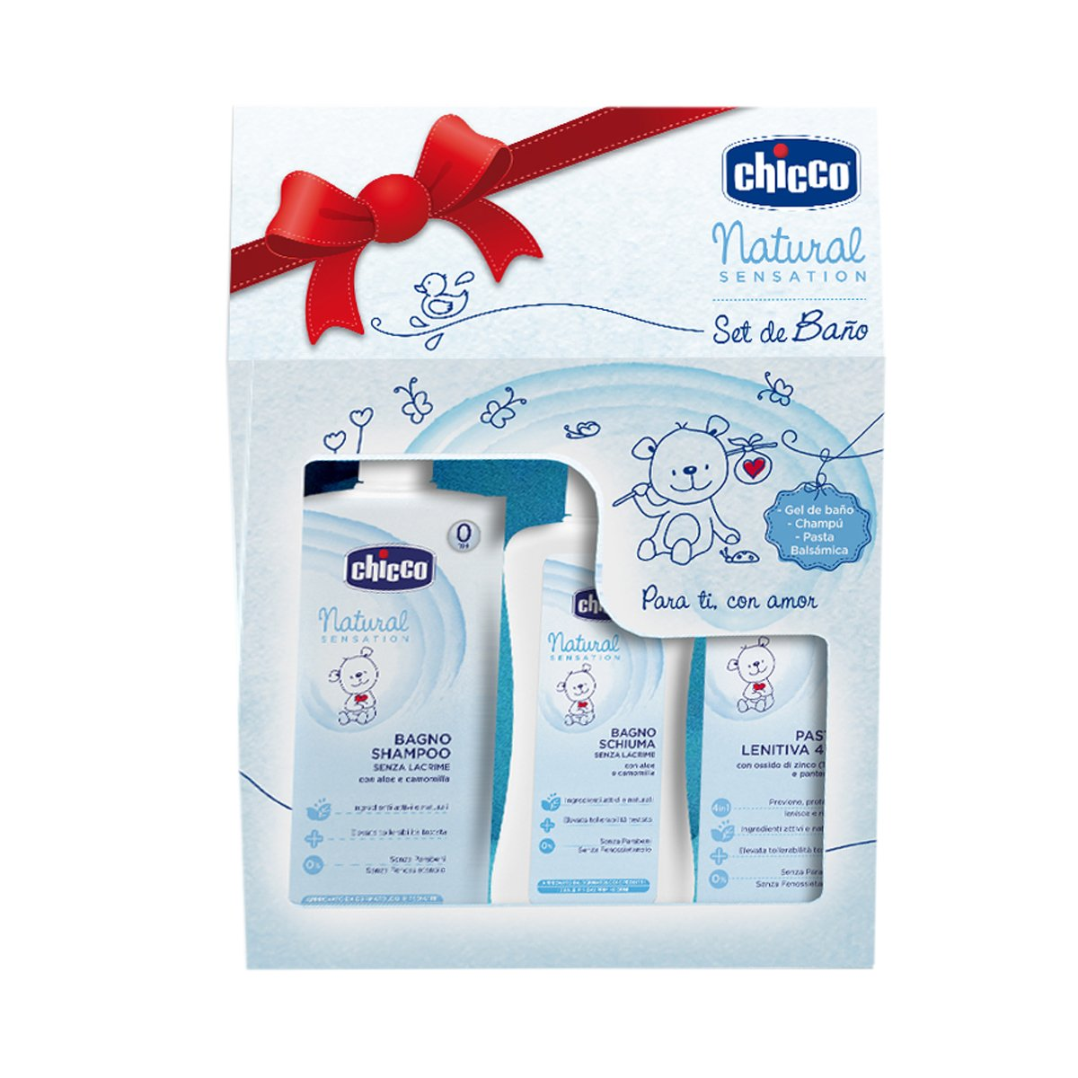 Chicco Natural Sensation – Toiletry Set Bath set