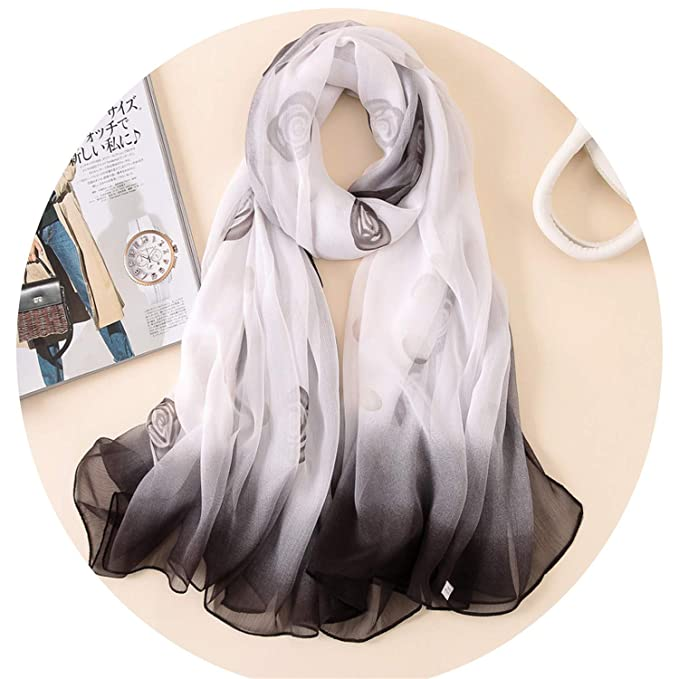 moins cher chaussure styles classiques Amazon.com: Scarf for women shawls wraps lady pashmina print ...