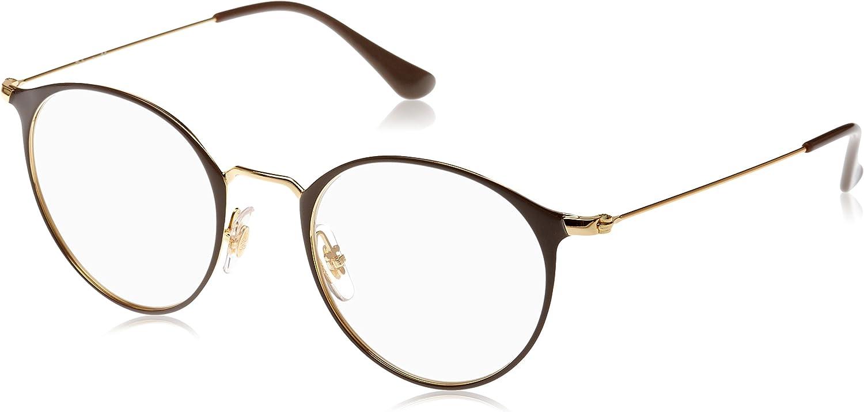 TALLA 47. Ray-Ban 0RX6378, Monturas de Gafas Unisex Adulto