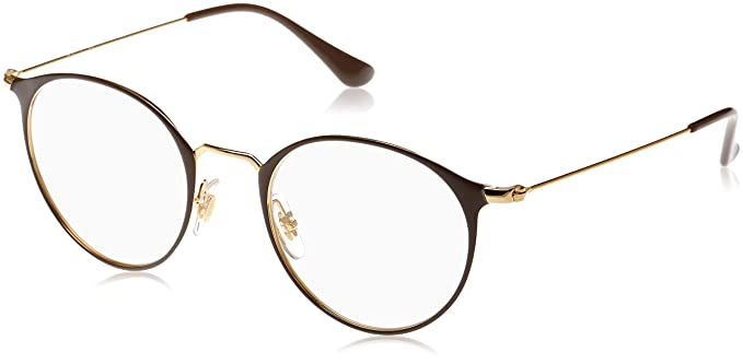 26b0902cee Image Unavailable. Image not available for. Colour  Ray-Ban Unisex RX6378  Eyeglasses