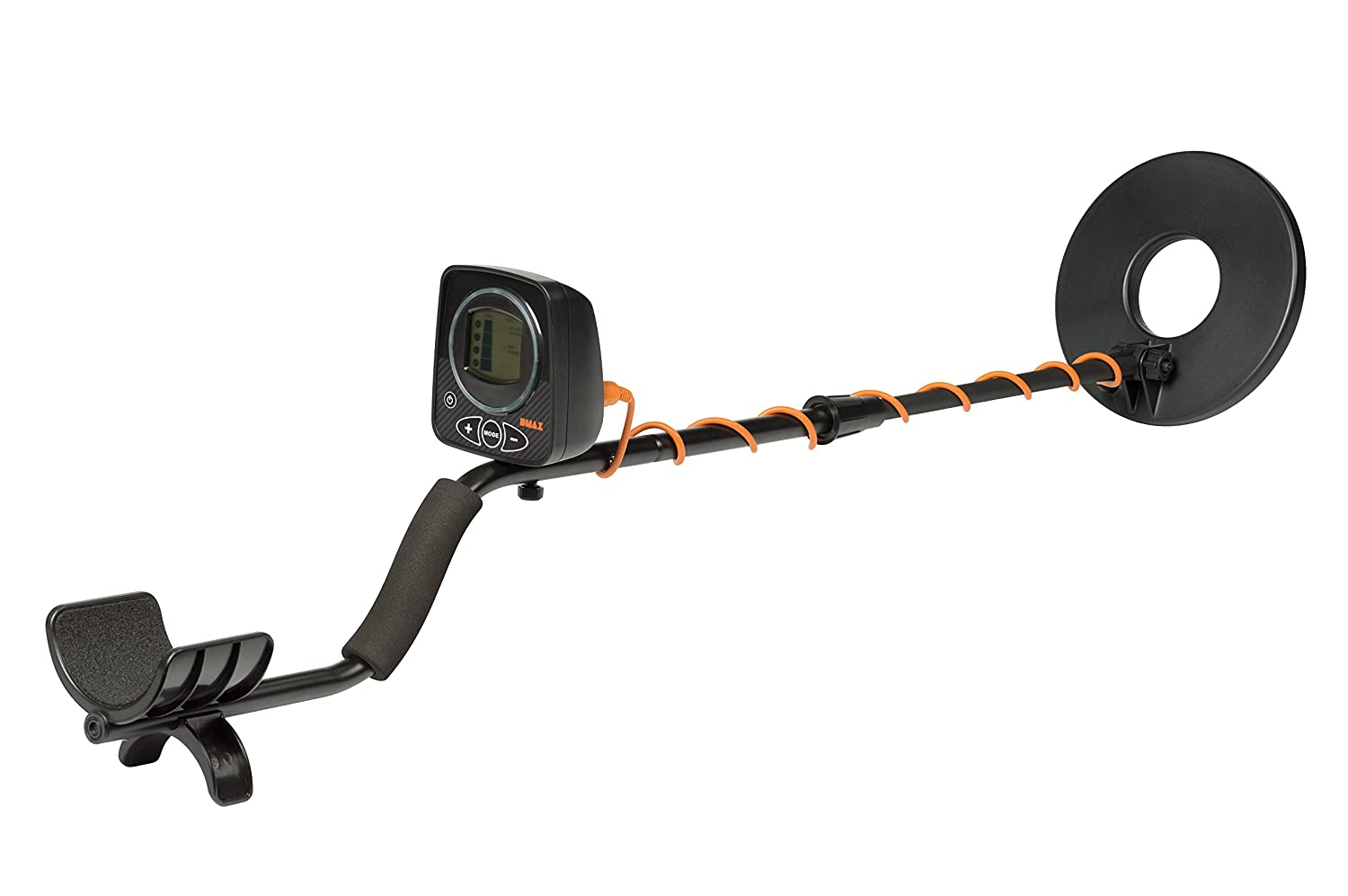Copper and Silver Calendared Easysearch with 8.5 Metal Detector Search Coil for Detection of Iron