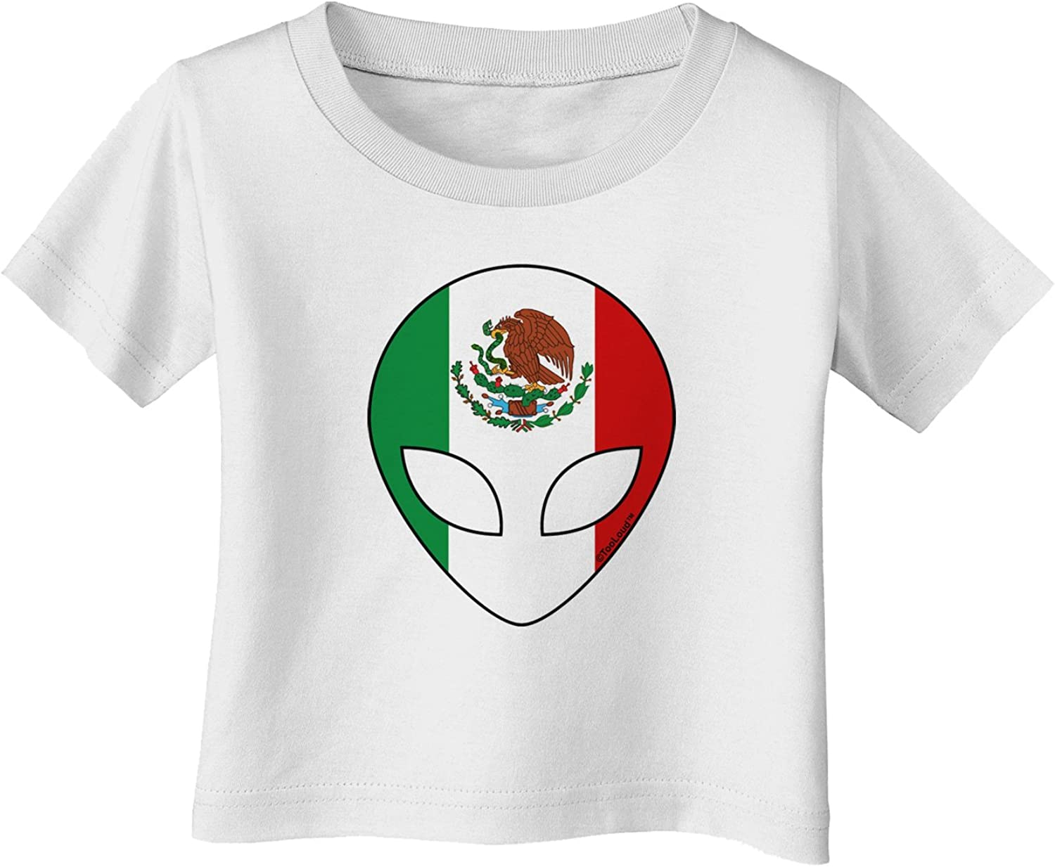 TOOLOUD Mexican Flag Extraterrestrial Infant T-Shirt