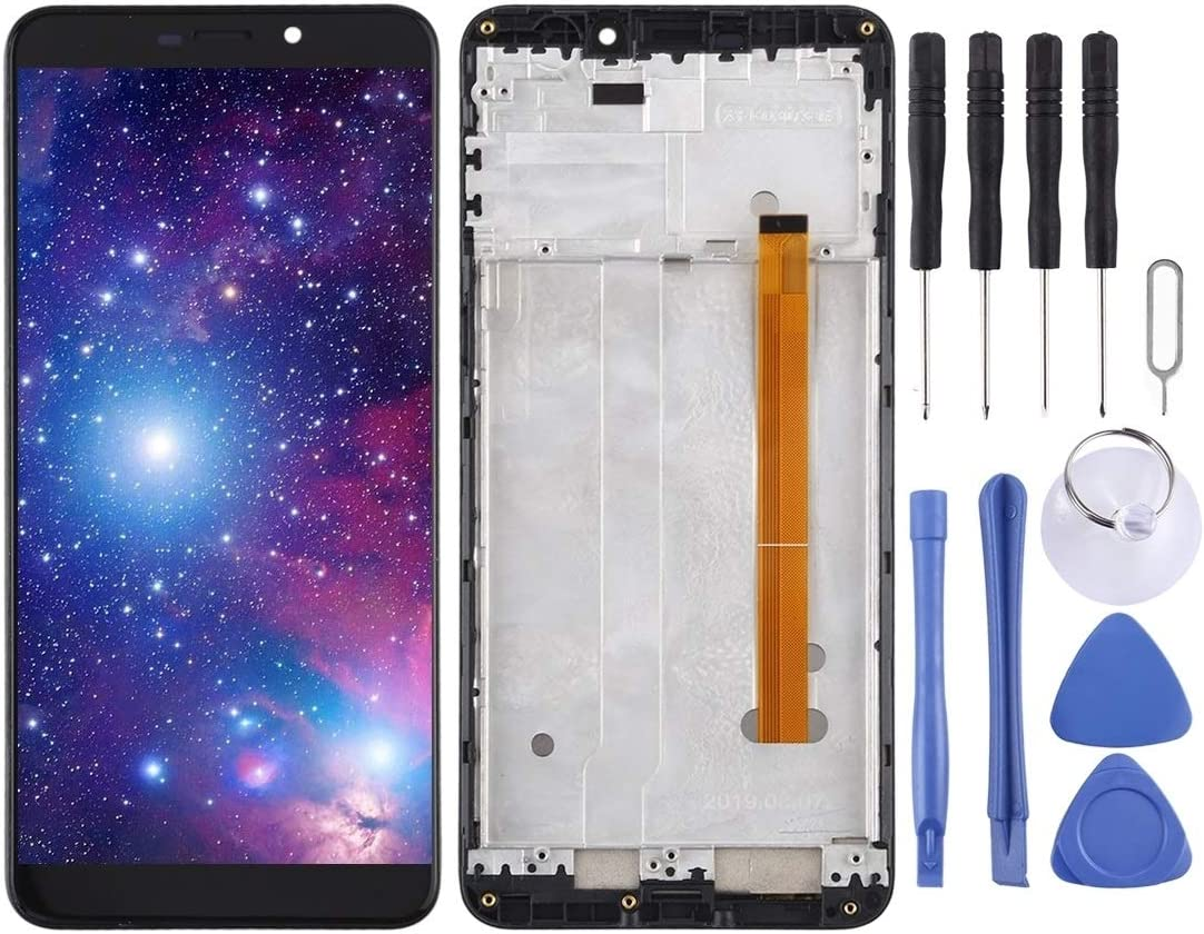 HUFAN Touch Panel LCD Full Assembly for Ulefone Power 6 LCD Screen Replacement