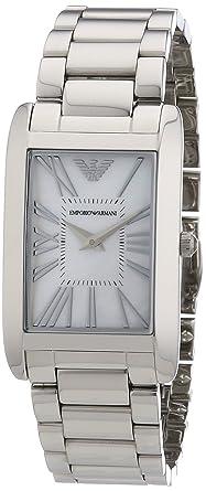 Emporio armani damen armbanduhr analog quarz edelstahl ar2037