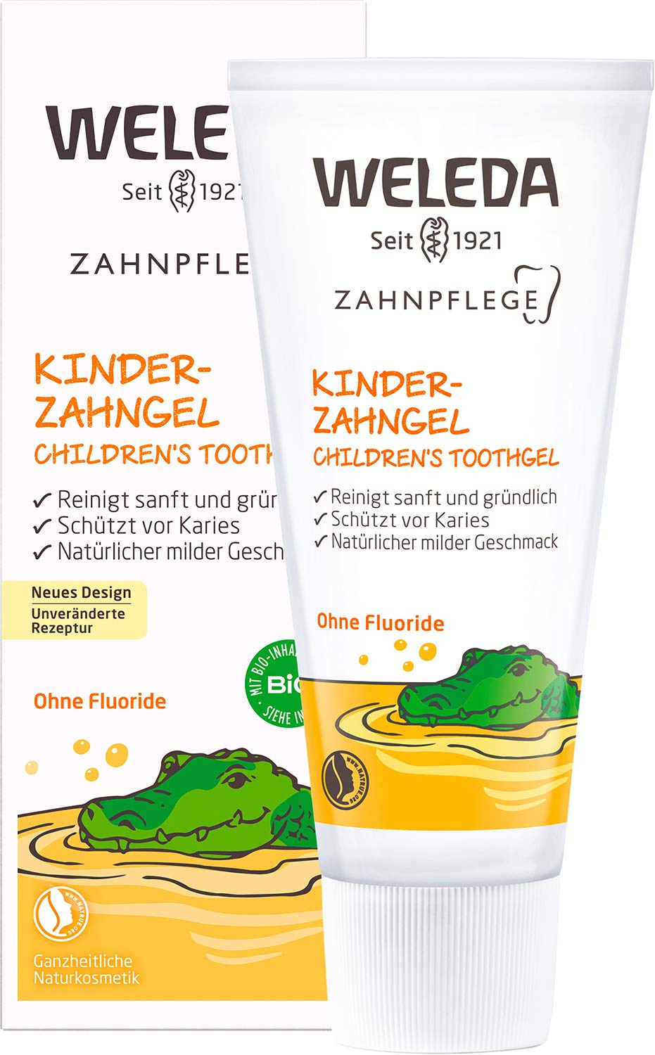 Weleda Children S Tooth Gel Natural Cosmetics Toothpaste For Natural Dental Care Of Milk Teeth And The Gums Of Children And Babies Protection Against Tooth Decay Without Fluoride 1 X 50 Ml Amazon De