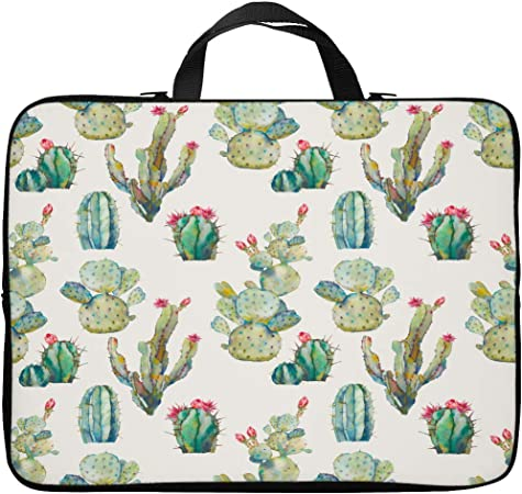 Laptop Sleeve Still Life with Plants by The Pairabirds on Laptop Sleeve