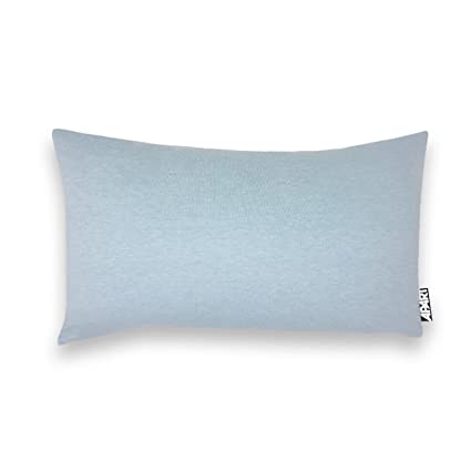Jersey Funda de cojín MIA en Color Azul Claro Jaspeado como – Almohada Cervical (Aprox