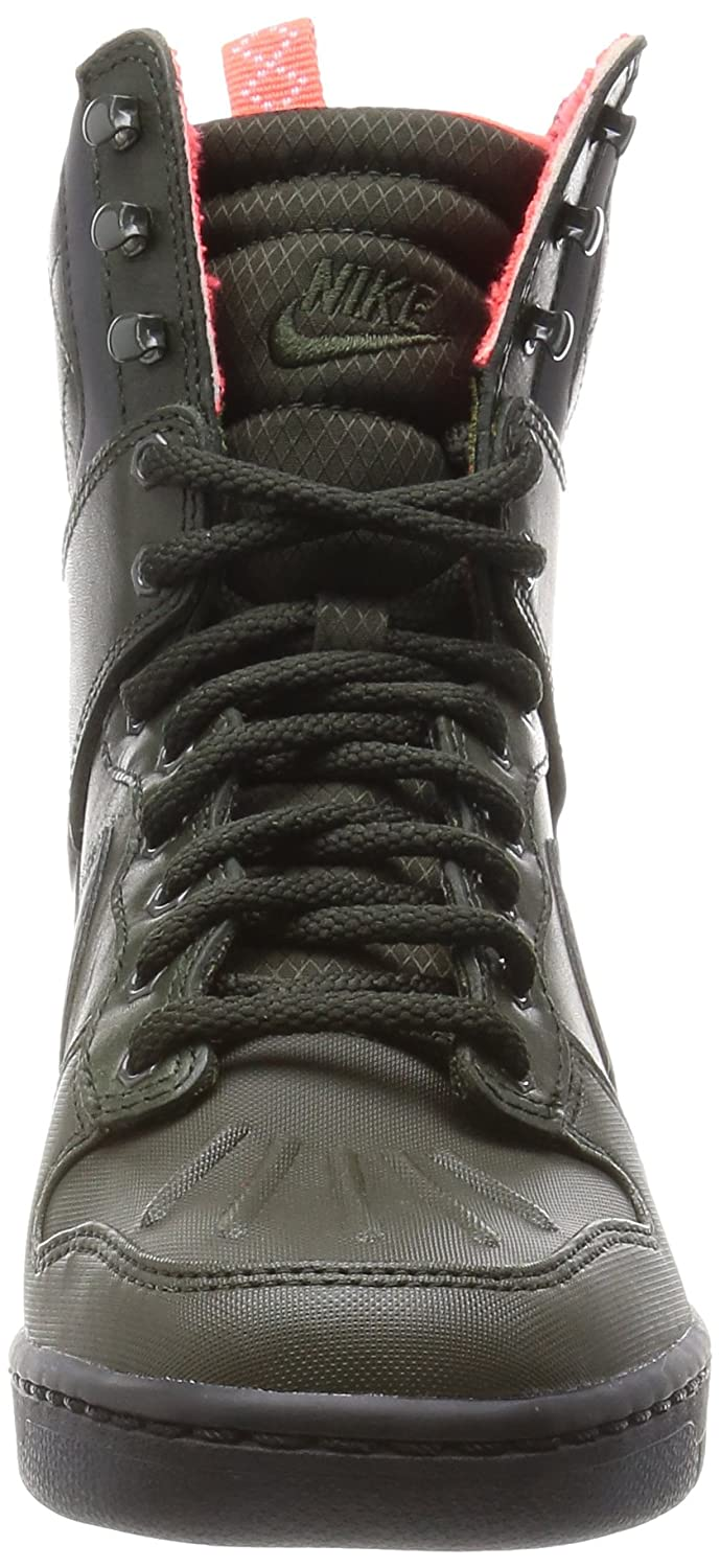best service c66ff 6a628 Amazon.com  Nike Dunk Sky Hi SNKRBT 2.0 Women US 8.5 Green Sneakers   Electronics