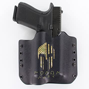 Outlaw Holsters - OWB Kydex Light Bearing Holster - Molon Labe Camo