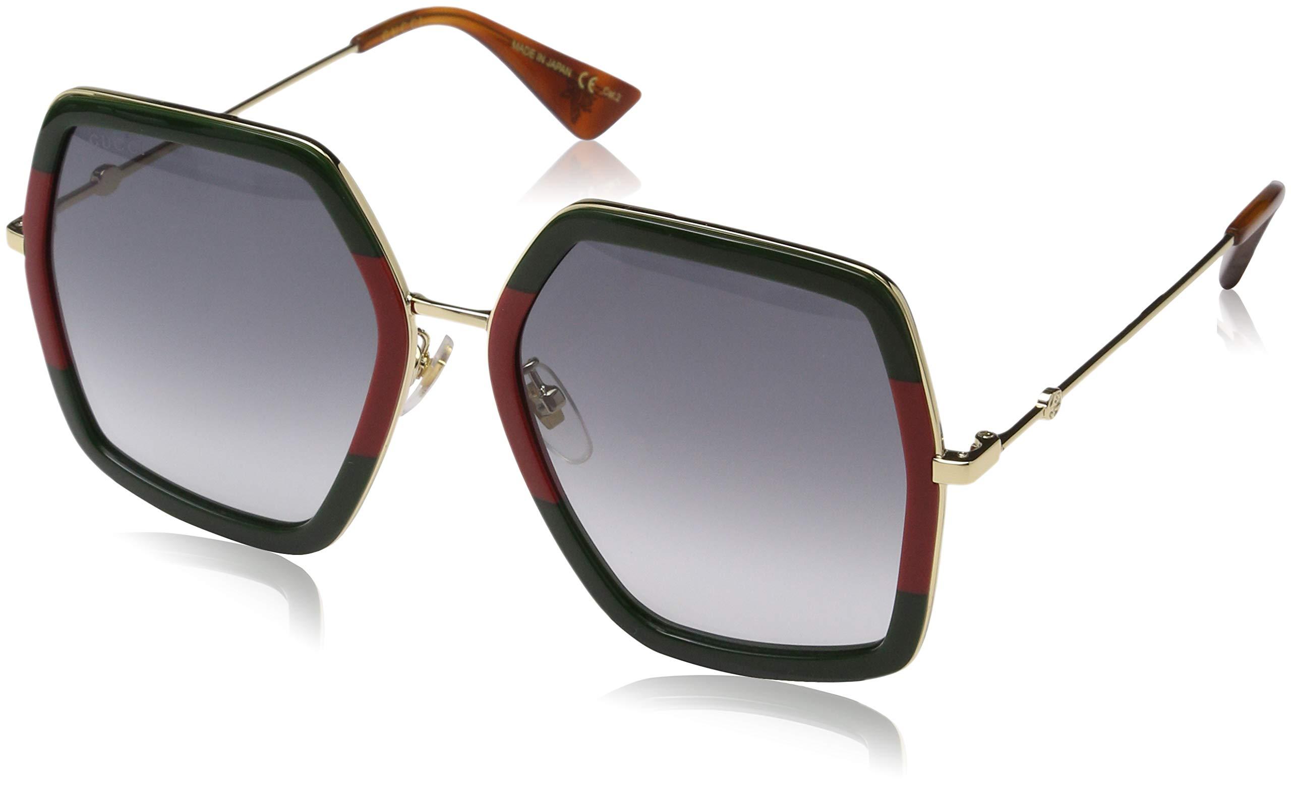 Gucci GG 0106 S- GG0106S Sunglasses 56mm by Gucci