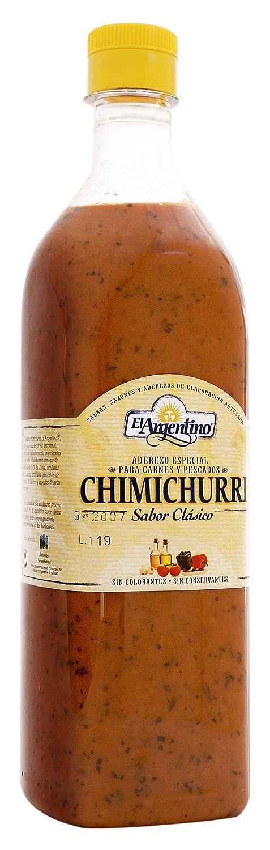 El Argentino Salsa Chimichurri - 1000 gr: Amazon.es: Alimentación y bebidas