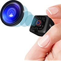 Mini Spy Camera 1080P Hidden Camera - Portable Small HD Nanny Cam with Night Vision and Motion Detection - Indoor Covert…