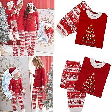 Amazon.com  Bifast Family Matching Sleepwear Christmas Pajamas Sets Children  Adults Pjs  Clothing a72003041