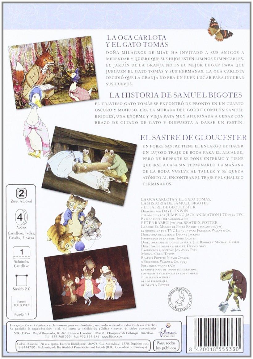 Amazon.com: Beatrix Potter 1 La Oca Carlota [Import espagnol ...