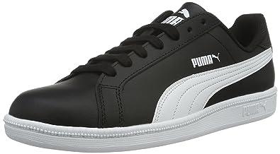 Puma Unisex-Kinder Smash Fun L Jr Low-Top, Schwarz Black White 07