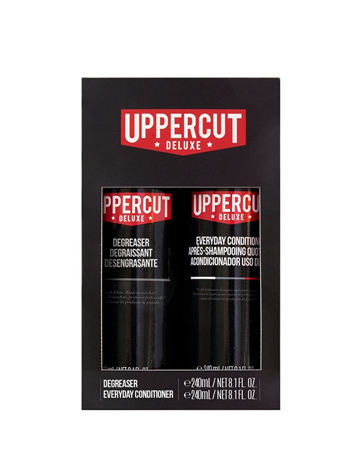 Everyday Degreaser and Everyday Conditioner for men by Uppercut Deluxe