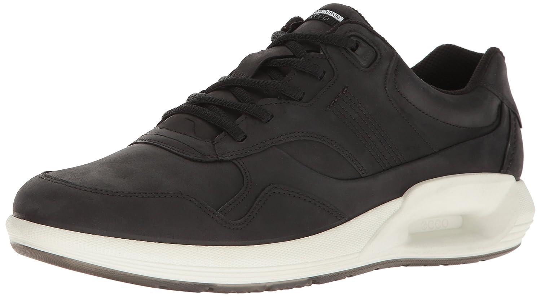 Ecco Men/'s CS16 M Low Retro Fashion Sneaker Leather Comfort Black 45