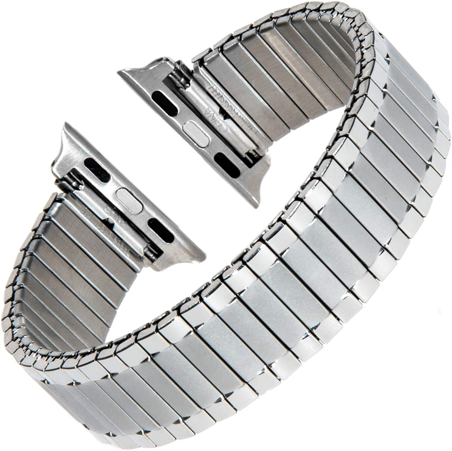 Gilden for Apple 38mm/40mm Gents Expansion Extra-Long Stainless Steel Watch Band 532-SMART