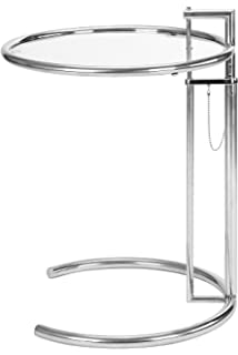 Eileen Grey Gray End Side Table Eileen Gray Adjustable Height Coffee Table With