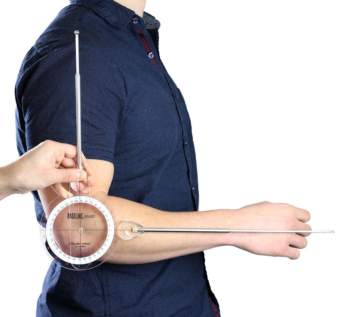 360 Degree Range Extendable Arms 9, 26 Baseline 12-1036 Extendable Goniometer