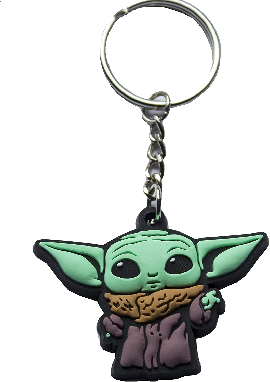 Star Wars The Mandalorian The Child Keychain Green