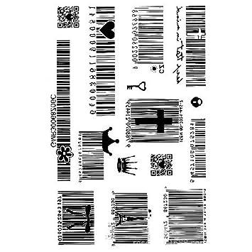 jspoir melodiz creativos Cuerpo de entfernbare Tattoo adhesivo ...
