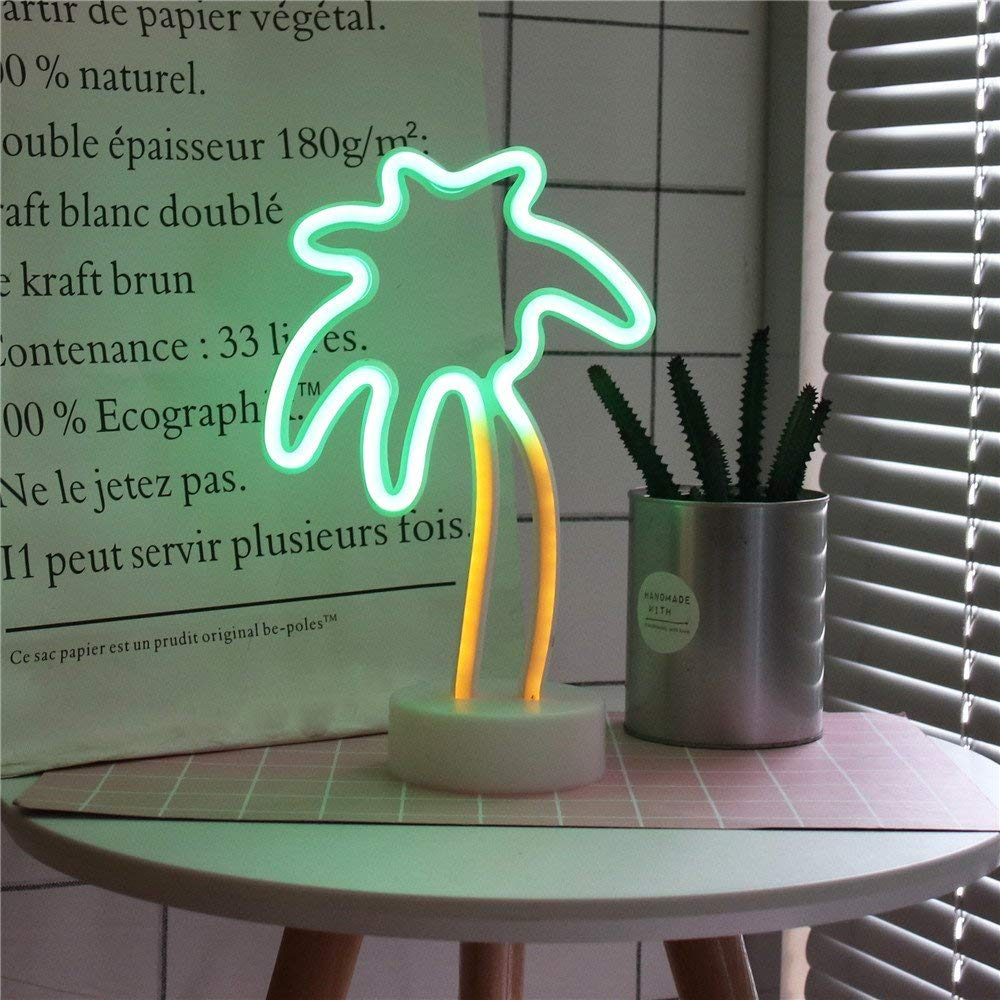 Romantic Night Table Lamp Holiday Home Christmas Party Decoration,Light Decor for Kids Baby Adults Bedroom,living room. QiaoFei 3D Tropical Pineapple LED Light