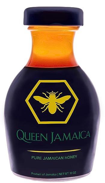 Queen Jamaica Honey - Pure Raw Jamaican Honey - 10 oz
