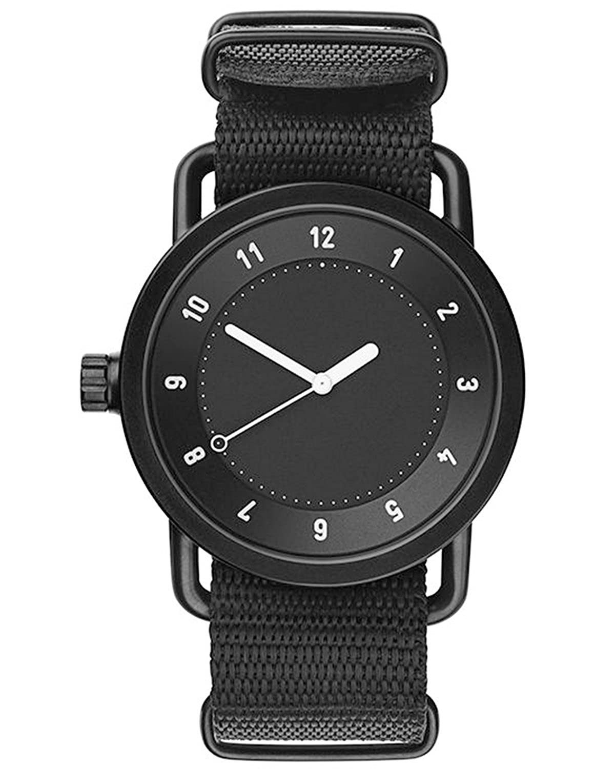 TID No.1 Black-Black Nylon horloge 10010121