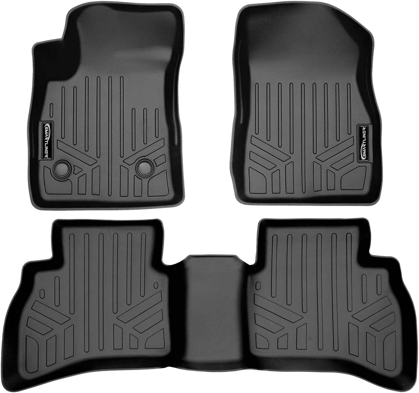 GGBAILEY D3967A-S1A-CH-BR Custom Fit Automotive Carpet Floor Mats for 1994 1996 Passenger /& Rear 1995 1997 BMW 8 Series Coupe Brown Driver