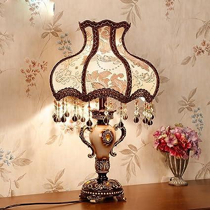 India Lámpara de Mesa Dormitorio de la Cabecera Retro ...