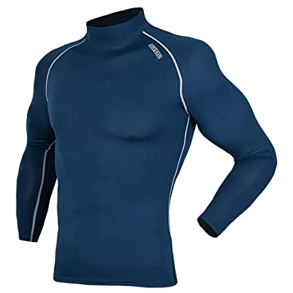 bbab301a1a08 DRSKIN UV Sun Protection Long Sleeve Top Shirts Skins Tee Compression Base  Layer (SN021