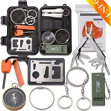 Box of 10 Great for Survival Kits Pocket Compass
