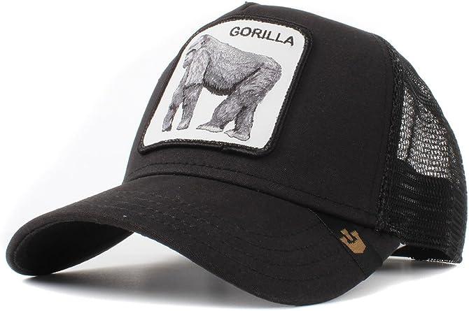 Goorin Bros. Sombrero Camionero -Rey de la selva Negro Talla única ...
