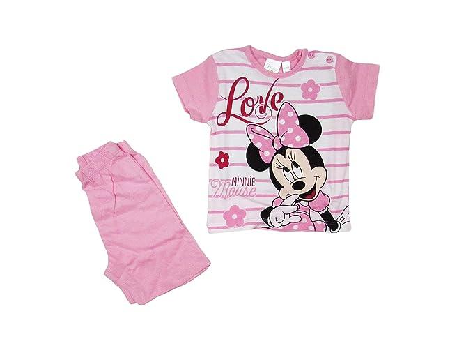 Disney Pigiama Corto per neonata//Bimba Minnie Baby WD101310 S534