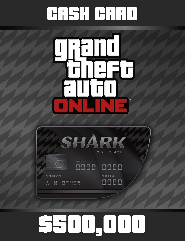 Amazon Com Grand Theft Auto V Bull Shark Cash Card Ps Digital Code Video Games