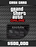 Grand Theft Auto Online | GTA V Bull Shark Cash Card | 500,000 GTA-Dollars | Code Jeu PC - Digital
