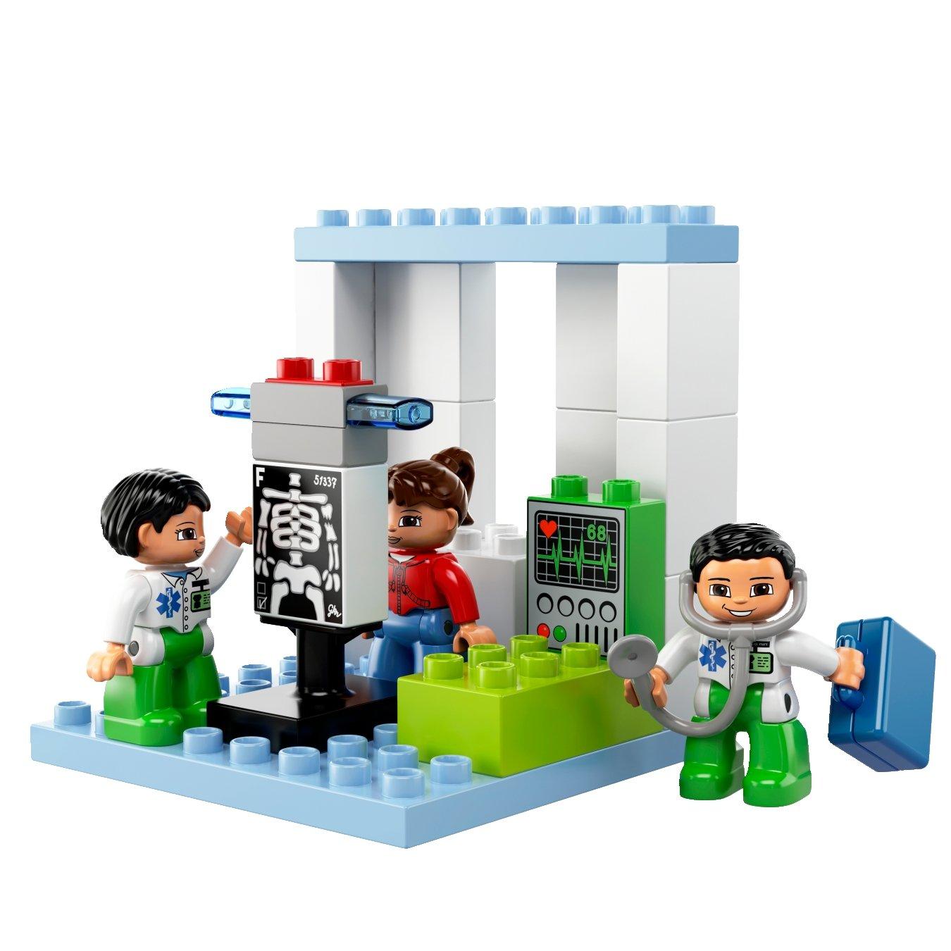 Lego Duplo 5795 importado de Alemania Gran hospital