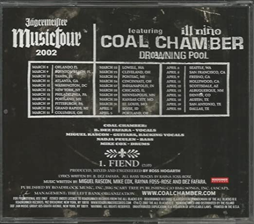 Coal Chamber - Dark Sides From Dark Days: Unreleased and