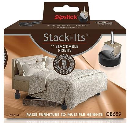 Slipstick cb659 ajustable cama/elevadores para muebles para ...
