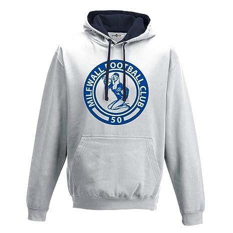 Sudadera con capucha Bico Parodia Logos Futbol Milfwall Football Club 50 1 XL