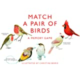Chronicle Books CB9781856699662 Match a Pair of Birds Memory Game