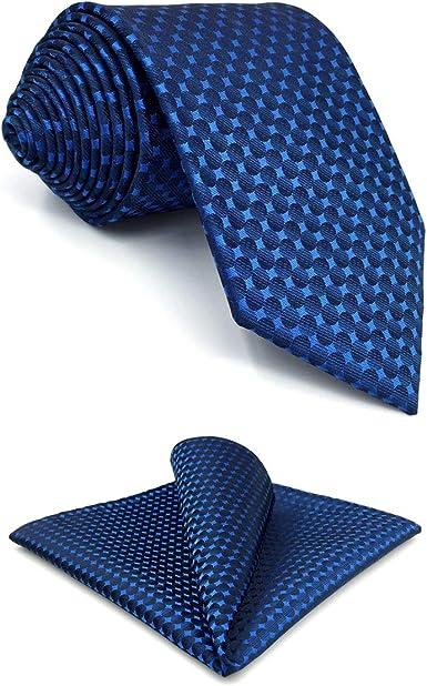 S&W SHLAX&WING Corbatas Para Hombre for Suit Para Hombre Seda with ...