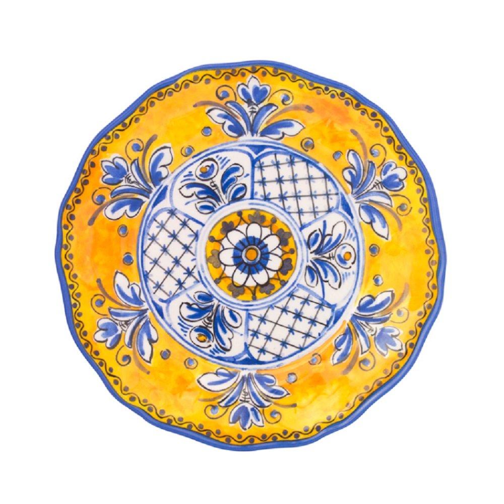 Le Cadeaux Benidorm Salad Plate, 9'', Multicolor