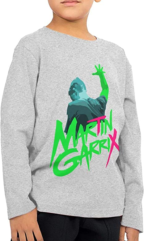 Martin Garrix Kids Boys Girl Long Sleeve T Shirt Sports ...