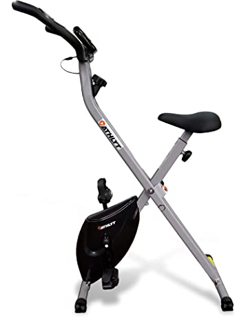 Athlyt Unisex's Folding Exercise Bike Basic, Grey|Exercise bike